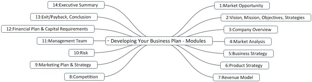 Developing the business plan