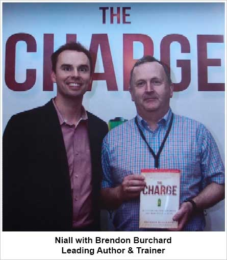 Niall with Brendon Burchard